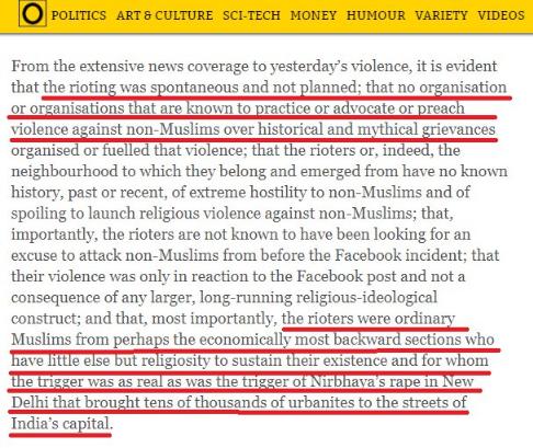 DailyO justifying Islamic violence